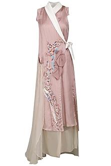 Pink Robe Dress by N&S Gaia
