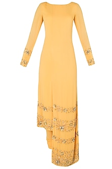 Mango High-Low Embroidered Kurta Set