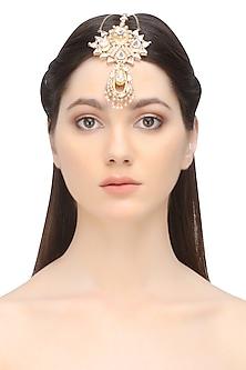 Rose gold plated eternal sheen headpiece