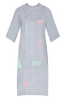 Grey Elemental Shift Dress