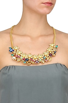 Gold plated Redolance Anestasia Neckgarland/ necklace