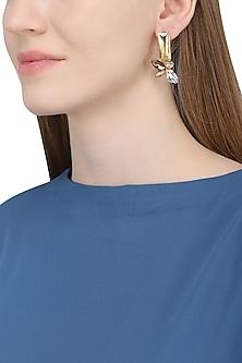 Gold Plated Earrings by Ornamas By Ojasvita Mahendru