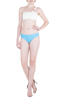 Sky blue regular bikini bottom by PA.NI Swimwear
