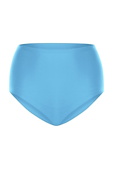 Sky blue high-waisted bikini bottom by PA.NI Swimwear