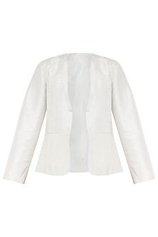 White Silk Jacket