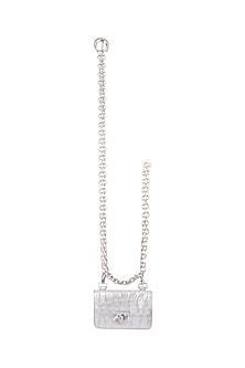 Silver Chain Belt Bag by Papa Don't Preach by Shubhika