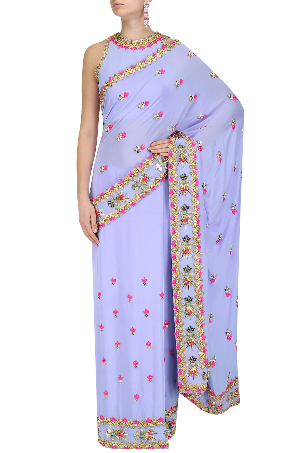 Papa Don't Preach by Shubhika Sarees
