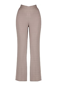 Grey Pin Stripes Bell Bottoms