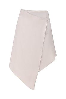 Nude Wrap Skirt
