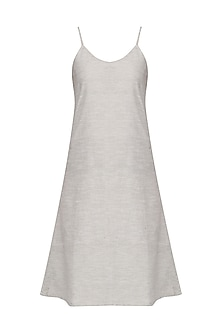 Grey Slip Dress
