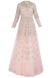 Pink French Knot Gown