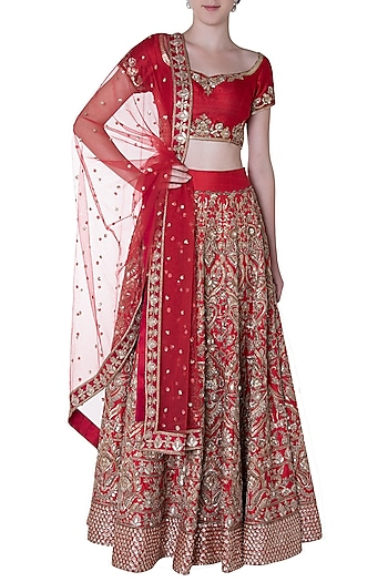 PINK PEACOCK COUTURE Lehengas