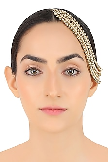 Gold Plated Five Row Headgear