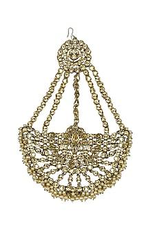 Gold Plated Mughal Maharani Passa by Purab Paschim by Ankit Khullar