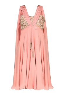 Summer Rose Embroidered Dress