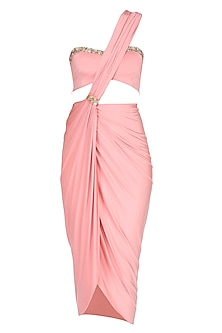 Summer Rose Short Saree Dress