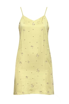 Pale Olive Slip Dress