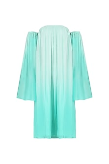 Sea Green Ombre Dress