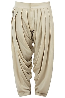 Ivory patiala pants