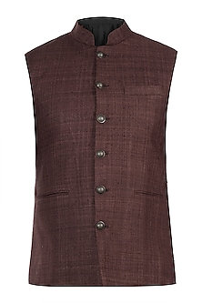 Brown nehru jacket