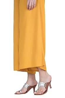 Silver Braided Kolhapuri Heels by Preet Kaur
