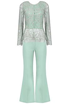 Tiffany Dainty Flared Pants Set