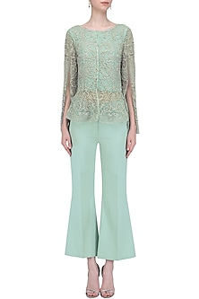 Tiffany Dainty Flared Pants Set by Platinoir