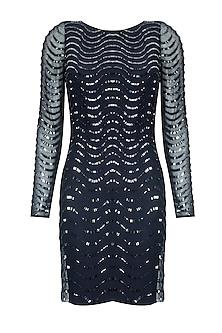 Montana cutdana embellished short dress by Platinoir