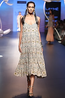 Stone Embroidered Dress