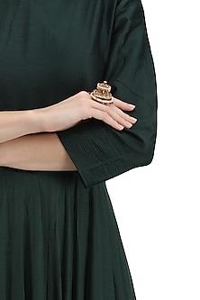 Gold Plated Palki Arsee Ring by Ra Abta