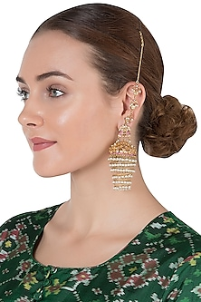 Gold Plated Filigree Jhumkas