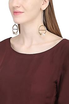 Rose Gold Flex Earrings by Rejuvenate Jewels