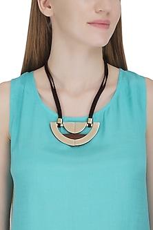Rose Gold Half Circled Necklace