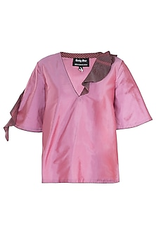 Onion Pink Frill Top