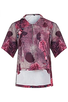 Pink Printed Tshirt