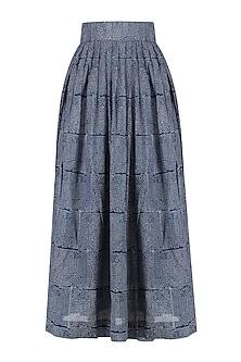 Indigo Alyssum Skirt