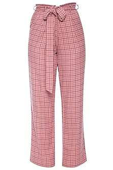 Peach trouser pants