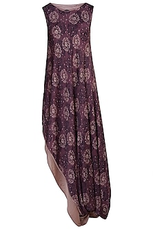 Mauve Layered Dress