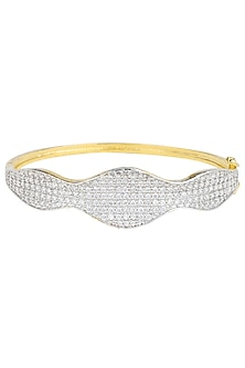 Gold Plated Zircons Bracelet by Rose Jewellery Collection