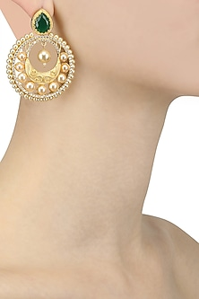 Gold Plated Micro Polish Hoop Earrings