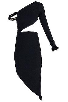 Black Metallic Dress