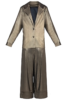 Gold Coat Suit