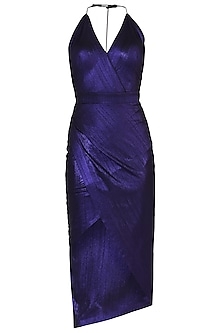 Purple Metallic Dress