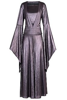 Lilac Metallic Jumpsuit
