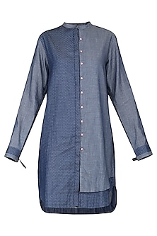 Blue Denim Long Shirt