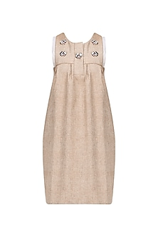 Tan Coppolla Shift Dress