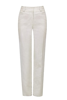 Ash Mid Rise Straight Pants