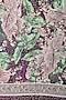 Purple floral printed jacquard Stole by Shingora