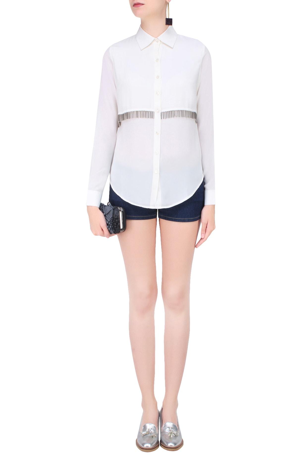 431-88 By Shweta Kapur Shirts