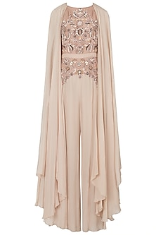 Mud rose embroidered jumpsuit